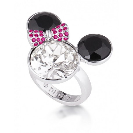 Anillo oro blanco Minnie Mouse Disney