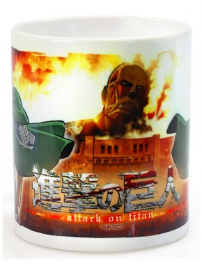 Taza Attack on Titan Duo