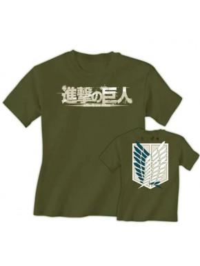 Camiseta Attack on Titan Logo