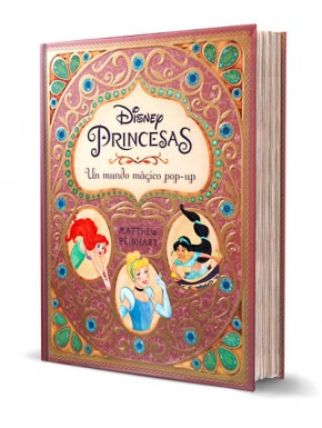 Libro Princesas Disney Pop-Up