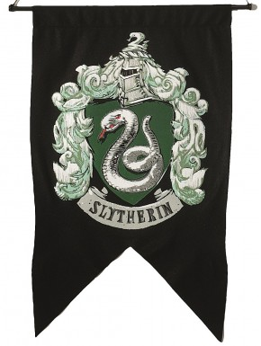 Bandera Slytherin Harry Potter