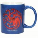 Taza Targaryen azul Juego de Tronos