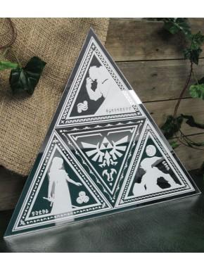 Espejo Zelda Trifuerza
