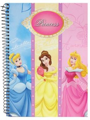 Cuaderno espiral A5 Disney Princess