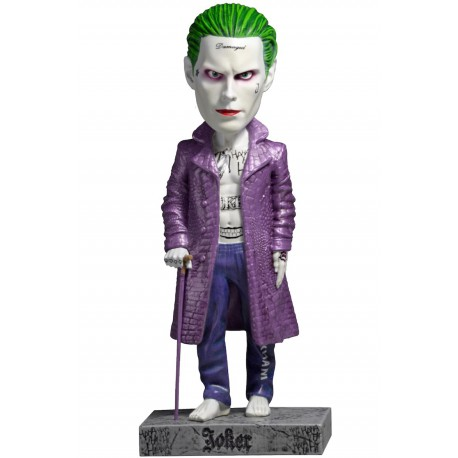 Figura Joker Cabezón Head Knocker Escuadrón Suicida