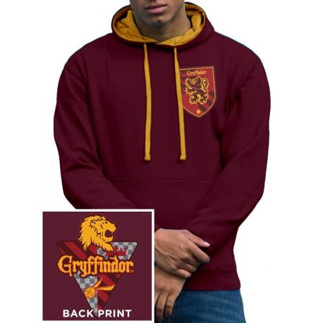 Sudadera Harry Potter Gryffindor con capucha