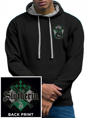 Sudadera Harry Potter Slytherin con capucha