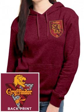 Sudadera Chica Harry Potter Gryffindor con capucha