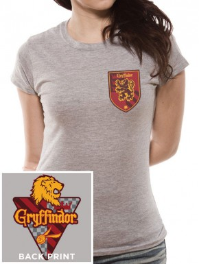 Camiseta Chica Gryffindor Harry Potter Quidditch