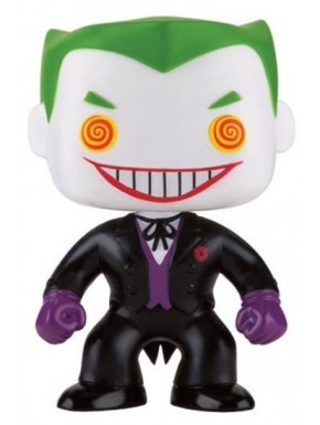 Funko Pop! Joker Batman Dc Comics Traje Negro