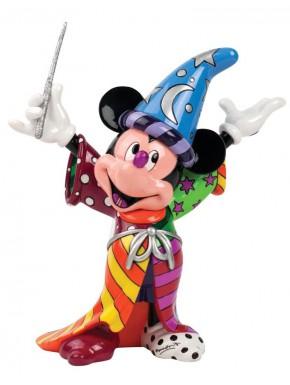 Estatua Mickey Mouse Mago Disney Britto 22 cm