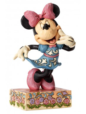Figura Minnie Call Me Disney Jim Shore 15 cm