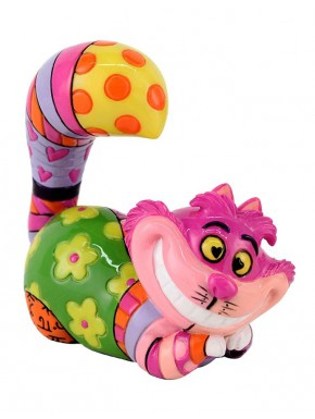 Figurita Cheshire Cat Disney Britto 7 cm