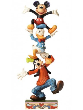 Figura Disney Goofie, Donald y Mickey Jim Shore 22 cm