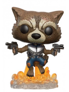 Funko Pop! Raccoon Jetpack Guardianes de la galaxia vol.2