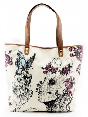 Bolso Loungefly Groot Flowers