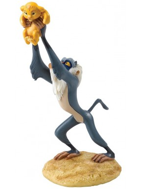 Figura Disney Rafiki y Simba El Rey León A King is Born
