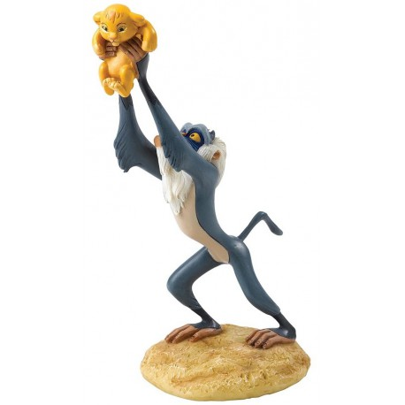Figura Disney Rafiki y Simba El Rey León A King is Born