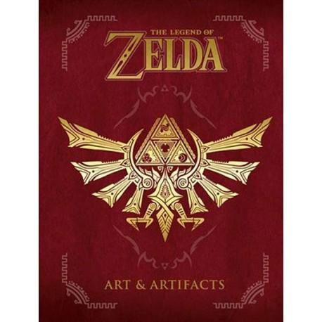 Libro Zelda Art & Artifacts