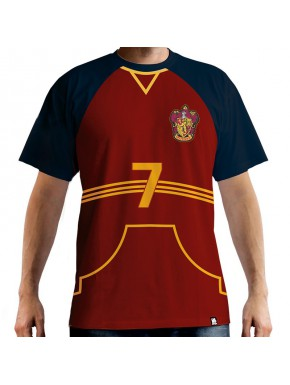Camiseta Cosplay Quiddich Captain Gryffindor Harry Potter