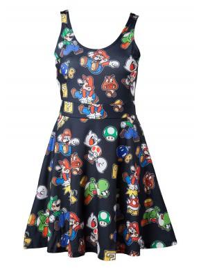 Vestido Super Mario characters
