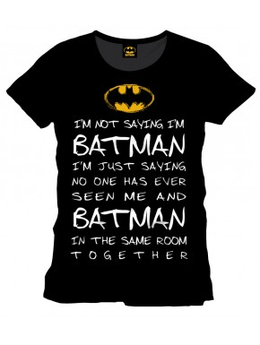 Camiseta Batman Who is Batman