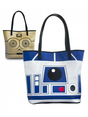 Bolso Loungefly Androides Star Wars R2D2 C3PO