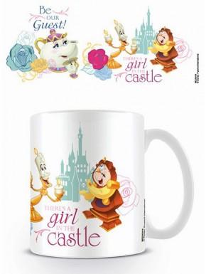 Taza Disney Bella y Bestia Be our Guest