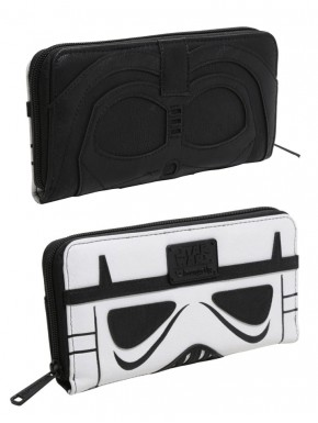 Cartera Loungefly Star Wars Vader & Trooper