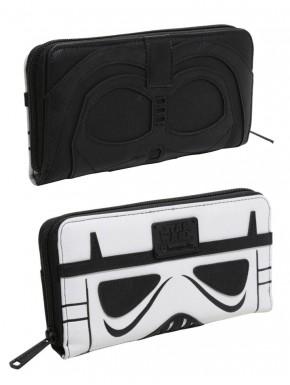 Cartera Loungefly Star Wars Vader & Trooper