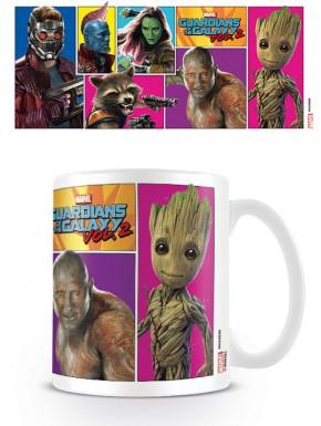Taza Guardianes de la Galaxia 2 Personajes Marvel