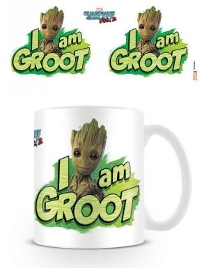 Taza Guardianes de la Galaxia 2 Groot Marvel