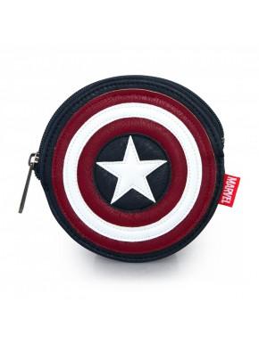 Cartera Monedero Loungefly Capitán América
