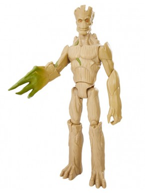 Figura Groot Articulada y Extensible Hasbro Titan Hero 30 cm