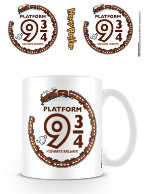 Taza Harry Potter Kawaii Andén 9 y 3/4