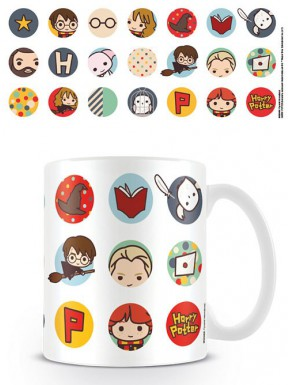 Taza Harry Potter Kawaii Circles