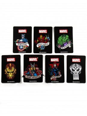 Parches Marvel Tatoo