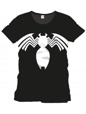 Camiseta Spiderman Traje Simbiótico Marvel