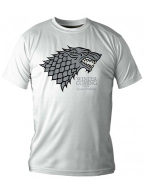 Camiseta Emblema Stark Juego de Tronos