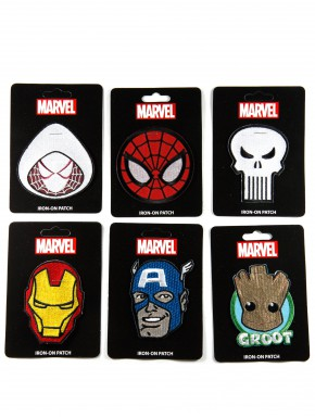 Parches Marvel Heroes