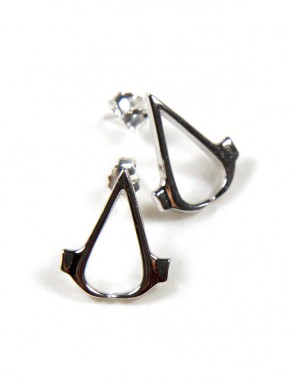 Pendientes plata de ley Assassin's Creed