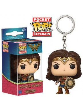 Llavero mini Funko Pop! Wonder Woman Película