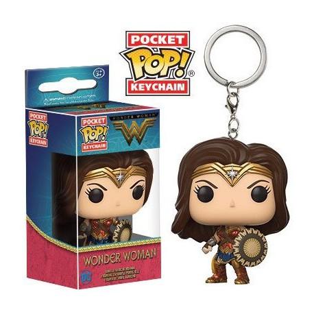 Llavero mini Funko Pop! Wonder Woman Película
