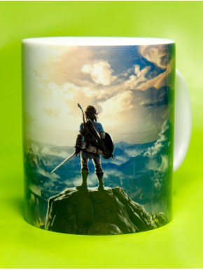 Taza Zelda Link Breath of the Wild