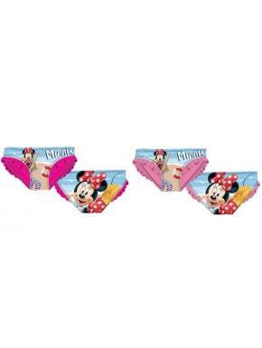 Bañador niña Minnie Mouse Playa Disney