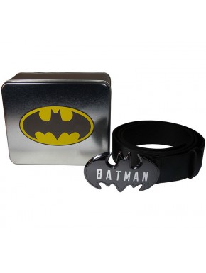 Cinturón Batman Logo Metal