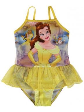 Bañador con tutú niña Bella Bella y Bestia Disney