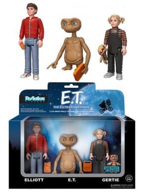 Pack 3 figuras articuladas E.T. El Extraterrestre ReAction
