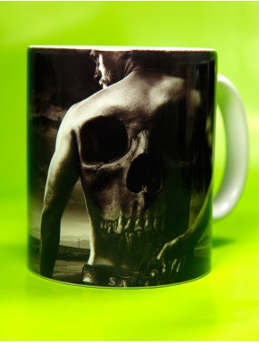 Taza Sons of Anarchy Jax back