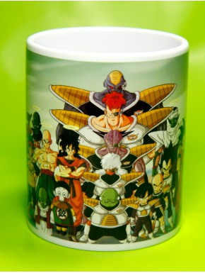 Taza Dragon Ball Goku evolution